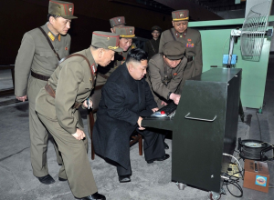 Kim Jong Un uses his lee7 H4X0R skillz to single-handedly bypass all of Caltech's firewalls.